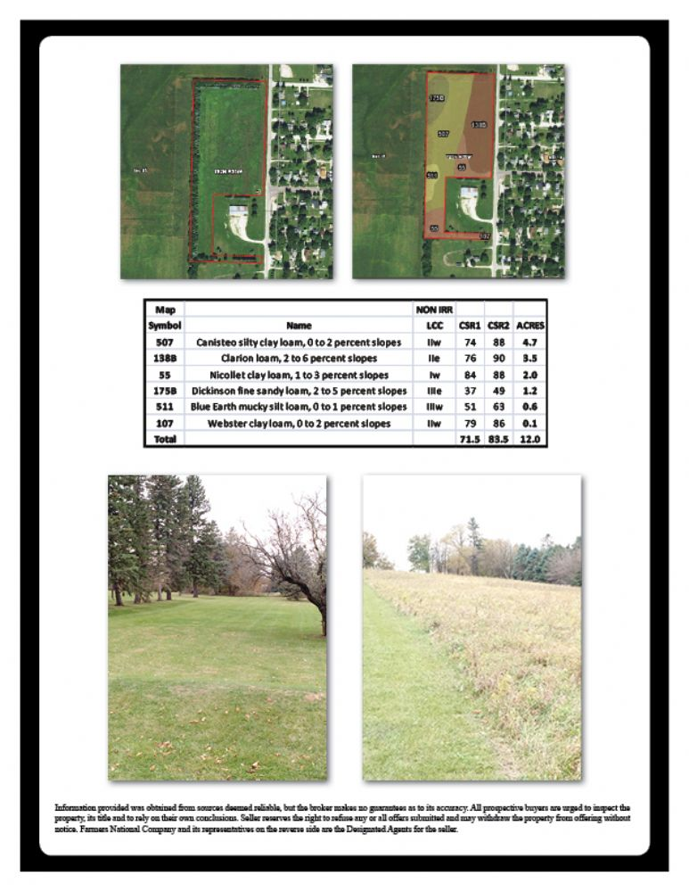 Iowa land for sale | Buena Vista County | Mark Williams